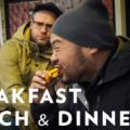 საუზმე, სადილი და ვახშამი